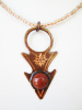 Copper Pendant with Goldstone