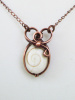 Shell Heart Copper Necklace