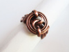 Copper Yin/Yang Ring