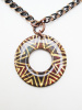 Integrity and Wholeness Circle Pendant