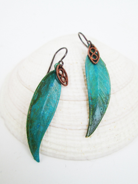 Small Leaf Earring