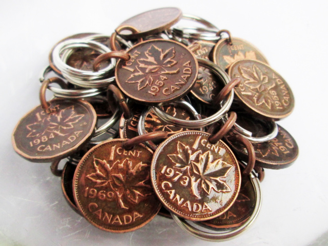 Lucky Penny Key Chains