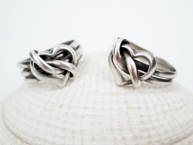 Silver Filled Heart Ring