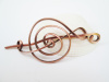 Treble Clef Copper Hair Piece